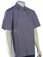 Quiksilver Waterman Palaka Button Down Shirt - Dark Grey