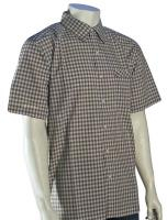 Quiksilver Waterman Palaka Button Down Shirt - Light Brown