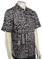 Quiksilver Waterman La Playa Button Down Shirt - Zinc
