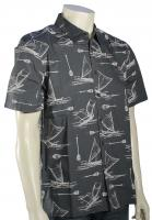 Quiksilver Waterman Pops Button Down Shirt - Dark Slate