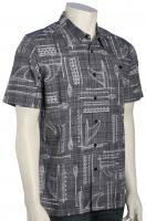 Quiksilver Waterman Foundation Button Down Shirt - Dark Slate