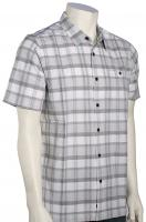 Quiksilver Waterman Idle Time SS Button Down Shirt - White