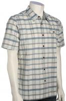 Quiksilver Waterman Idle Time SS Button Down Shirt - Pristine