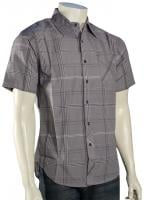 Billabong Chazz SS Button Down Shirt - Grey