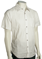 Billabong Optima SS Button Down Shirt - White