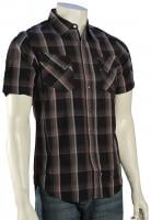 Billabong Sensor SS Button Down Shirt - Black