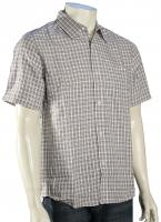 Quiksilver Schooner SS Button Down Shirt - Khaki
