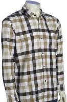 Quiksilver Fuze LS Button Down Shirt - Khaki
