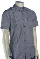 Quiksilver Trig SS Button Down Shirt - Black