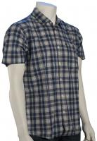 Quiksilver Everyday Checks SS Button Down Shirt - Denim