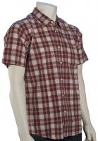 Quiksilver Everyday Checks SS Button Down Shirt - Plum