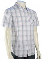 Hurley Marbles SS Button Down Shirt - White