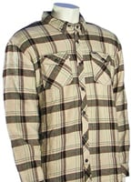 Hurley Lamont LS Button Down Shirt - Bone
