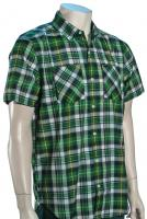 Hurley Mortar SS Button Down Shirt - Evergreen