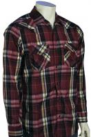 Hurley Jag LS Button Down Shirt - Clove