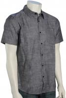 Hurley One and Only 3.0 SS Button Down Shirt - Black