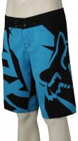 Fox Motion Fracture Boardshorts - Acid Blue