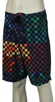Vans Era Stretch Boardshorts - Black / Multi Checker