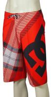 DC Campaign Boardshorts - Blazing Red