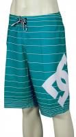 DC Lanai Essential Boardshorts - Blue Teal Stripe