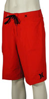 Hurley One and Only Solid Boardshorts - Redline