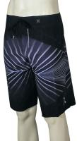 Hurley Phantom 4D Boardshorts - Black / Grey