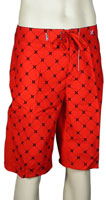 Hurley One and Only Print Boardshorts - Redline