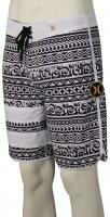 Hurley Phantom Block Party Cryptik Boardshorts - White