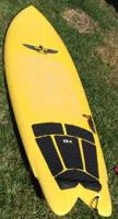 Used Von Sol Von Knight Fish Surfboard - 5'11