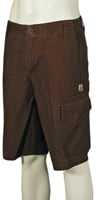 Volcom Surplus Squared Walk Shorts - Brown