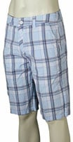 Hurley Barney Walk Shorts - White / Blue