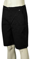 Hurley One and Only Solid Walk Shorts - Black