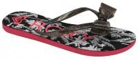 Roxy Girl Lulu Sandal - Black / White