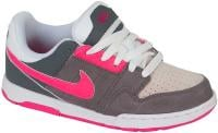 Nike 6.0 Mogan Junior Shoe - Cool Grey / Cherry / White