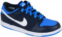 Nike 6.0 Dunk Low Junior Shoe - Obsidian / White / Blue Glow