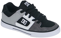 DC Pure Youth Shoe - Black / Armor / White