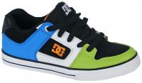 DC Pure Youth Shoe - Green / Black / White