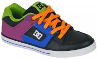 DC Pure Youth Shoe - Black / Potent Purple