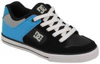 DC Pure Youth Shoe - Black / Bright Royal