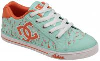 DC Chelsea Graffik Youth Shoe - Misty Blue