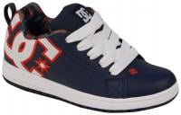 DC Court Graffik SE Youth Shoe - Navy