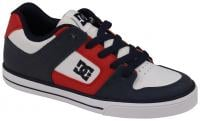 DC Pure Youth Shoe - Black / Red / White