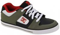 DC Pure Youth Shoe - Olive / Black