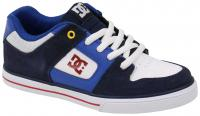 DC Boy's Pure Shoe - Navy / Red