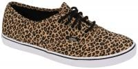 Vans Authentic Lo Pro Shoe - Leopard / Herringbone