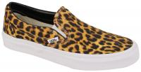 Vans Classic Slip On Shoe - Leopard / True White