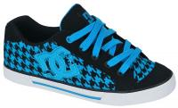 DC Women's Chelsea Shoe - Black / Turk Blue