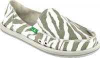Sanuk I'm Game Sidewalk Surfer - Zebra Grey