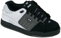 Globe Fusion Shoe - Black / Charcoal / White