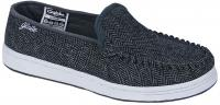 Globe Castro Shoe - Black / Grey Tweed